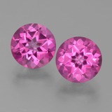 thumb image of 6.7ct Round Facet Purplish Pink Mystic Topaz (ID: 451796)