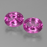 thumb image of 6.9ct Oval Facet Purplish Pink Mystic Topaz (ID: 451799)