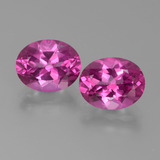 thumb image of 6.2ct Oval Facet Purplish Pink Mystic Topaz (ID: 451801)
