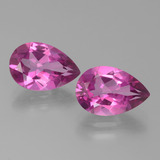 thumb image of 7.2ct Pear Facet Purplish Pink Mystic Topaz (ID: 451803)