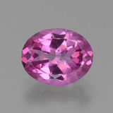 thumb image of 2.6ct Oval Facet Purplish Pink Mystic Topaz (ID: 451820)