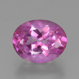 thumb image of 3.8ct Oval Facet Purplish Pink Mystic Topaz (ID: 451823)