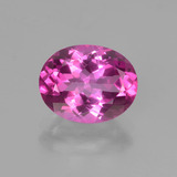 thumb image of 3.1ct Oval Facet Pink Mystic Topaz (ID: 451840)