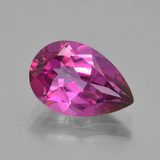 thumb image of 3.7ct Pear Facet Pink Mystic Topaz (ID: 451842)