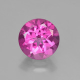 thumb image of 3.2ct Round Facet Purplish Pink Mystic Topaz (ID: 451844)