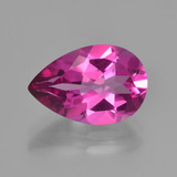 thumb image of 3.6ct Pear Facet Purplish Pink Mystic Topaz (ID: 451845)