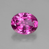 thumb image of 3.1ct Oval Facet Purplish Pink Mystic Topaz (ID: 451850)