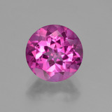 thumb image of 3.4ct Round Facet Purplish Pink Mystic Topaz (ID: 451851)