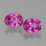 thumb image of 6.4ct Oval Facet Purplish Pink Mystic Topaz (ID: 451852)