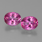 thumb image of 6.3ct Oval Facet Purplish Pink Mystic Topaz (ID: 451854)