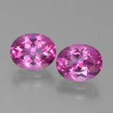 thumb image of 6.8ct Oval Facet Purplish Pink Mystic Topaz (ID: 451858)