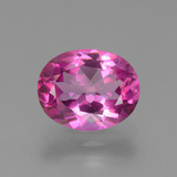 thumb image of 3.2ct Oval Facet Purplish Pink Mystic Topaz (ID: 451863)