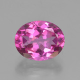 thumb image of 3.4ct Oval Facet Purplish Pink Mystic Topaz (ID: 451876)