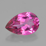 thumb image of 3.3ct Pear Facet Purplish Pink Mystic Topaz (ID: 451878)