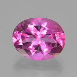 thumb image of 3.3ct Oval Facet Purplish Pink Mystic Topaz (ID: 451881)