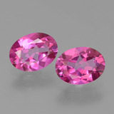 thumb image of 2.9ct Oval Facet Purplish Pink Mystic Topaz (ID: 452775)