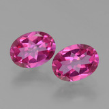 thumb image of 2.8ct Oval Facet Purplish Pink Mystic Topaz (ID: 452776)