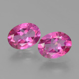 thumb image of 2.6ct Oval Facet Purplish Pink Mystic Topaz (ID: 452777)
