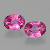 thumb image of 2.7ct Oval Facet Purplish Pink Mystic Topaz (ID: 452780)