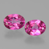 thumb image of 2.8ct Oval Facet Purplish Pink Mystic Topaz (ID: 452781)