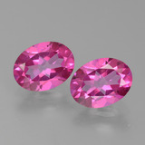 thumb image of 2.8ct Oval Facet Purplish Pink Mystic Topaz (ID: 452784)