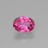 thumb image of 1.4ct Oval Facet Purplish Pink Mystic Topaz (ID: 452792)