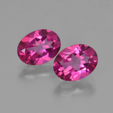 thumb image of 2.8ct Oval Facet Purplish Pink Mystic Topaz (ID: 452799)