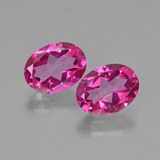 thumb image of 2.7ct Oval Facet Purplish Pink Mystic Topaz (ID: 452801)