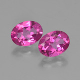 thumb image of 3ct Oval Facet Purplish Pink Mystic Topaz (ID: 452807)