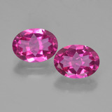 thumb image of 2.8ct Oval Facet Purplish Pink Mystic Topaz (ID: 452808)