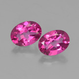 thumb image of 2.8ct Oval Facet Purplish Pink Mystic Topaz (ID: 452810)