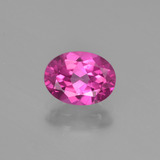 thumb image of 1.5ct Oval Facet Purplish Pink Mystic Topaz (ID: 452837)