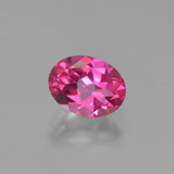 thumb image of 1.6ct Oval Facet Purplish Pink Mystic Topaz (ID: 452877)