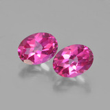 thumb image of 3.1ct Oval Facet Purplish Pink Mystic Topaz (ID: 452878)