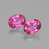 thumb image of 2.9ct Oval Facet Purplish Pink Mystic Topaz (ID: 452879)