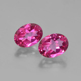thumb image of 3ct Oval Facet Purplish Pink Mystic Topaz (ID: 452881)