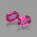 thumb image of 2.9ct Oval Facet Purplish Pink Mystic Topaz (ID: 452882)