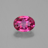 thumb image of 1.4ct Oval Facet Purplish Pink Mystic Topaz (ID: 452938)