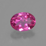 thumb image of 1.5ct Oval Facet Purple Pink Mystic Topaz (ID: 456077)