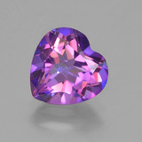 thumb image of 2.2ct Heart Facet Multicolor Mystic Topaz (ID: 456810)