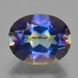 thumb image of 3.3ct Oval Facet Multicolor Mystic Topaz (ID: 456879)