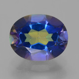 thumb image of 3.3ct Oval Facet Multicolor Mystic Topaz (ID: 456932)