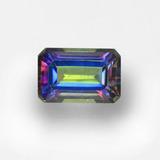 thumb image of 0.7ct Octagon Step Cut Multicolor Mystic Topaz (ID: 457331)