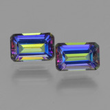 thumb image of 1.3ct Octagon Step Cut Multicolor Mystic Topaz (ID: 457336)