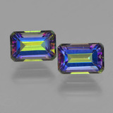 thumb image of 1.5ct Octagon Step Cut Multicolor Mystic Topaz (ID: 457341)