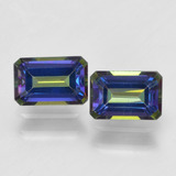 thumb image of 1.4ct Octagon Step Cut Multicolor Mystic Topaz (ID: 457354)