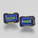 thumb image of 1.4ct Octagon Step Cut Multicolor Mystic Topaz (ID: 457356)