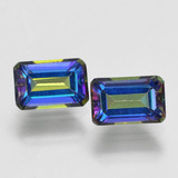 thumb image of 1.4ct Octagon Step Cut Multicolor Mystic Topaz (ID: 457358)