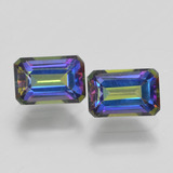 thumb image of 1.4ct Octagon Step Cut Multicolor Mystic Topaz (ID: 457359)