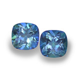 thumb image of 1.4ct Cushion-Cut Multicolor Mystic Topaz (ID: 457401)